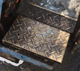 縞板-舗装用重機①