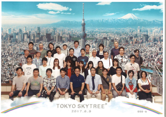 縞板-東京スカイツリー①